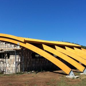 GLULAM STRUCTURES (COVERED POOL) 3