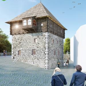 project of conservation and restoration of the Ganic Tower, Rozaje 1