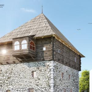 project of conservation and restoration of the Ganic Tower, Rozaje 2