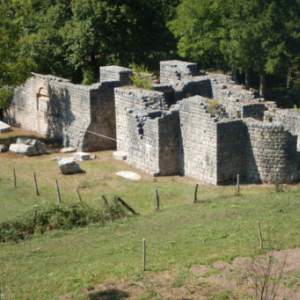 project of conservation – remains of the church of Saint Stephen in Scepan Polje. 1