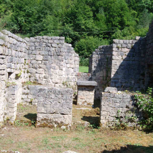 project of conservation – remains of the church of Saint Stephen in Scepan Polje. 6