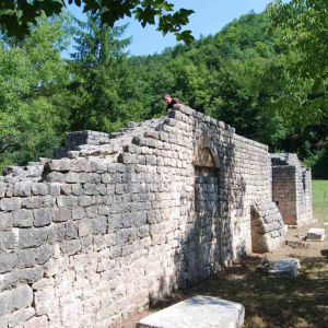 project of conservation – remains of the church of Saint Stephen in Scepan Polje. 4